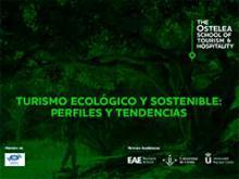 Portada del informe esobre turismo ecológico. Ostelea