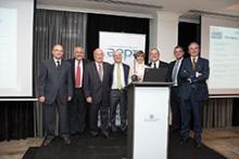 Participación en el evento de algunos de los presidentes anterioraes de la AEPT