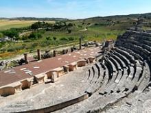 Teatro romano en Segóbriga (Saelices)