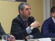 Mesa de ponentes. Intervemción de Santiago Aguilar