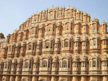 Palacio de los Vientos, en Jaipur