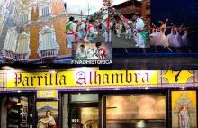 Fantasia de elementos públicos de reclamo al turismo